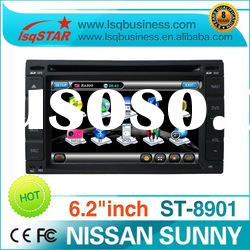 2 Din 7 inch Nissan/Hyundai Car DVD Player with GPS Navigation! in stock !