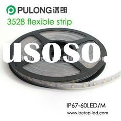 3528 epoxy cover smd led strip with 3M tape