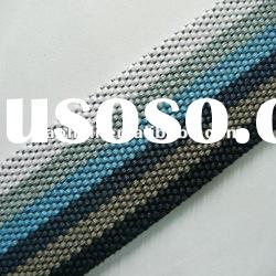 38mm striped cotton webbing for bags,cheap cotton webbing