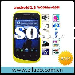 """3G Star A101 smart phone Dual Card Dual Camera GSM + WCDMA 3.5"""" Capacitive Screen Android 2.3"""