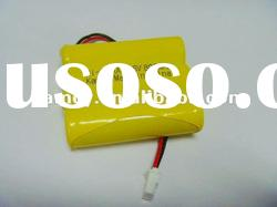 3.6V AA800mAh rechargeable cylindrical Ni-Cd battery pack