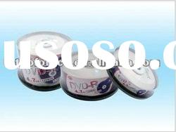 4.7GB Blank DVDR disc with cake box package
