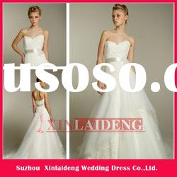 AVF007 ivory tulle sweetheart bridal ball gown