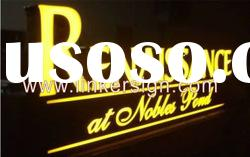Acrylic LED channel letter sign for advertising