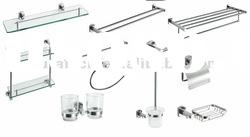 Bathroom hardware accessories fitting set