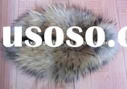 CD005 Very popular All kinds of raccoon dog fur collar