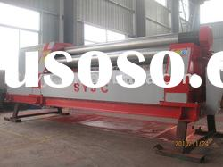 CNC 4-rollers plate coiling machine
