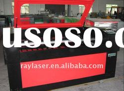 CO2 RL95140HS rotary attachment laser engraver, laser engraving on curve surfaces