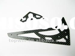 Carbon fiber Vertical / Horizontal stabilizer parts for 450pro rc helicopter spare parts