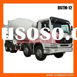 China NO.1 DSTM-12 Truck-mounted Concrete Mixer PLC control