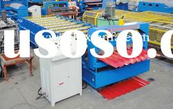 Colored steel roof panel roll forming machine XF1155