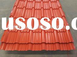 Colorful Coated Steel Roofing Tile