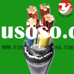 Copper Conductor XLPE Insulated PVC Sheath armoured Cable