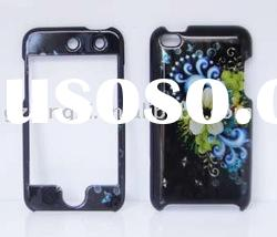 Custom design case rubberized cell phone case for Iphone Touch 4