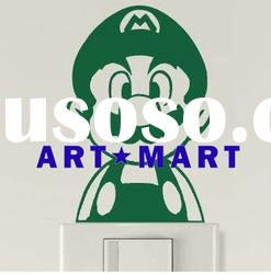 Cute Super Mario Brothers Wall Decal Art Sticker Vinyl Super Mario Wall Stickers No.182