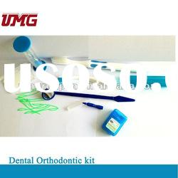 Dental Orthodontic kit with Toothbrush 8 in 1