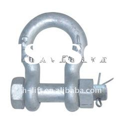 Drop Forged Bolt Type Anchor Shackle U.S. Type G2130