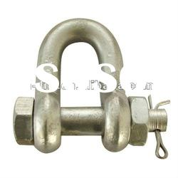 Drop Forged Bolt Type Chain Shackle U.S. Type G2150