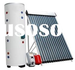 Energy efficiency heat pipe seperated solar water heater