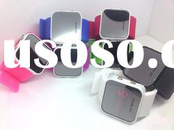 Fashion and high quality silicone LED watch