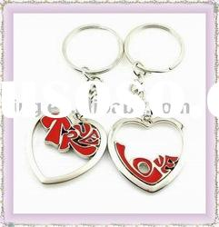 Fashion metal keyring/zinc alloy keychain