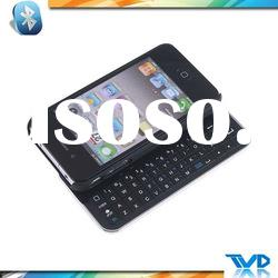 For iPhone4&4S:Slide out Bluetooth keyboard