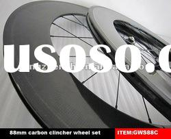 GWS88C full carbon clincher wheels with high profile