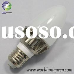 HOT 3W LED Chandelier Candle Light Bulbs
