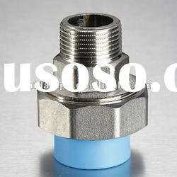 High quality nickel plated ppr male union