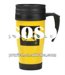 Hot sale Double wall plastic thermal Mug