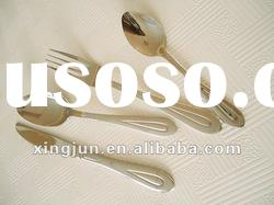 Hotel and restaurant stainless steel flatware set