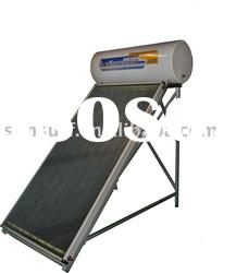 Integrative Solar Water Heater with flat panel