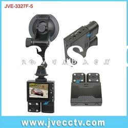 JVE-3327F-5 5.0 mega pixel Dual-lens video for car;hidden car dvr;hidden car camcorder