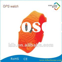Latest colorful thin silicone ops watch