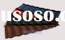 Length (1170mm or 1335mm) Color stone coated metal roofing tile