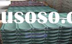 Length (1170mm or 1335mm) colorful stone coated metal roof tile