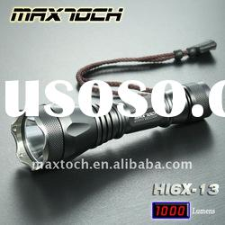 Maxtoch HI6X-13 10W XML T6 1000LM 18650 High power Rechargeable Aluminum LED CREE Flashlight Bicycle