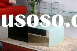 Modern glass coffee table B1636,living room Furniture