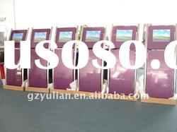 Multimedia Information inquiry system/touch screen floor stand kiosks with thermal printer
