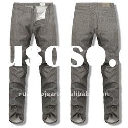 New Style Mens Hemp Jeans Cotton Polyester Spandex Prices GN360012