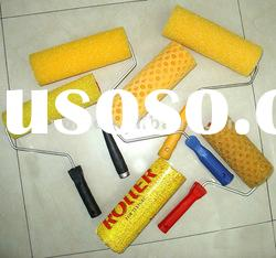 New style pattern paint roller, sponge paint roller brush