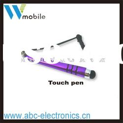 OEM hot selling Stylus touch Pen for capacitive Screen with earphone stopper jack plug