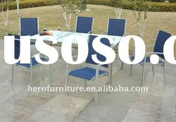 Outdoor Furniture Sling Dining set HJ-193-7