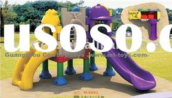 Outdoor Playground Equipment /Combined Slide M-5701from Guangzhou Cowboy Toys
