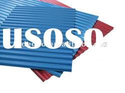 PVC corrugated roofing tile