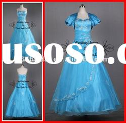 PYN2204 2012 In Stock Organza Sweetheart Ball Gown prom quinceanera dresses