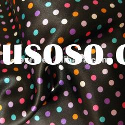 Printed Polyester Satin Fabric for Bags