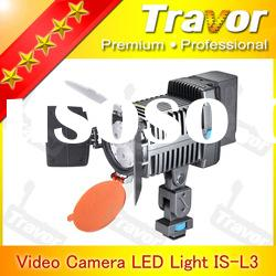Professional IS-L3 LED Video Light With 3pcs LED multimedia products