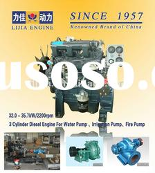 Promotion! Water Pump Stationary Power 3 Cylinder Engine