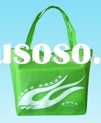 Promotional green bag nonwoven bag with logo